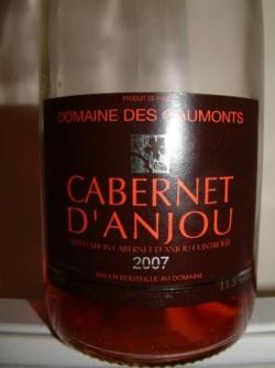CABERNET D'ANJOU DEMI SEC 2007 DOMAINE DES GAUMONT
