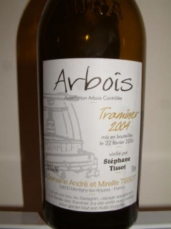ARBOIS TRAMINER 2004