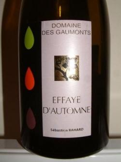 EFFAYE D'AUTOMNE 2006 DOMAINE DES GAUMONTS