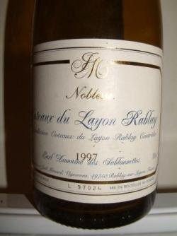 LAYON RABLAIS NOBLESSE 1997 DE CHEZ MENARD