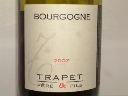 BOURGOGNE TRAPET 2007
