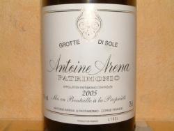 PATRIMONIO GROTTE DI SOLE 2005 ANTOINE ARENA