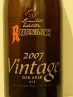 RODENBACH VINTAGE 2007