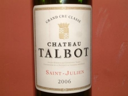 CHATEAU TALBOT 2006