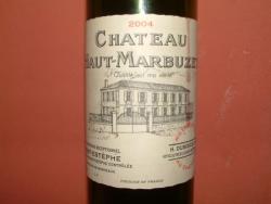 CHATEAU HAUT MARBUZET 2004
