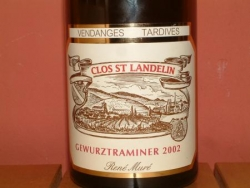 GEWURTZ CLOS SAINT LANDELIN VT 2002