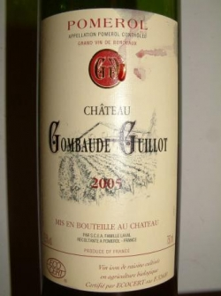 CHATEAU GOMBAUDE GUILLOT 2005