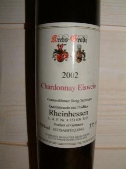 EISWEIN 2002 CHARDONNAY DE KREBS