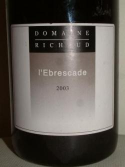 EBRESCADE 2003 DE RICHAUD