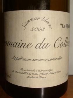 DOMAINE DU COLLIER LA RIPAILLE 2003 A. FOUCAULT