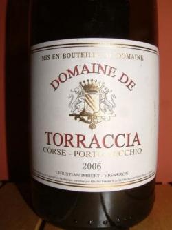 DOMAINE DE TORRACCIA 2006 CHRISTIAN IMBERT