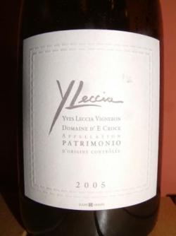 PATRIMONIO DOMAINE D'E CROCE 2005 Y. LECCIA