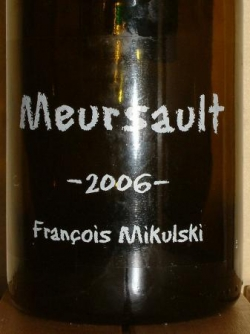 MEURSAULT 2006 F. MIKULSKI