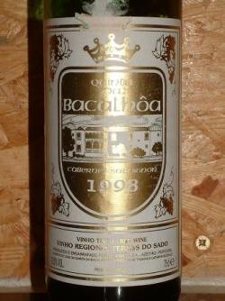 QUINTA DO BACALHOA 98 CABERNET SAUVIGNON