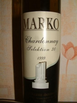 Chardonnay selektion 30 Auslese 99 de Markowitsch