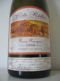 ROSE POUPRE DE GAILLARD