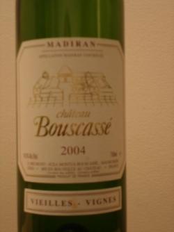 BOUSCASSE VIEILLES VIGNES 2004