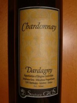 CHARDONNAY DARDAGNY DE STEPHAN GROS 2004