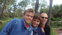 Olivier, Erwan et Mael