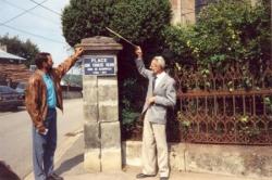 Inauguration de la place Abbé Ricard en 1991