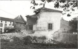 Démolition du moulin Saint-Maur en 1985