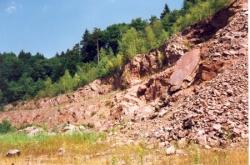 Les carrières de granit en Noirmont