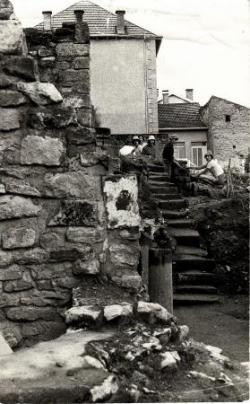 Fouilles à l'abbaye Saint-Maur (1978-1982)