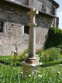 Croix du jardin de l'abbaye