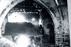 L'abbatiale Saint-Maur avant sa restauration