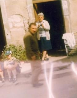 Abbé Paul Pierrat en 1978