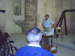 Jean-Marie Cuny à l'abbaye Saint-Maur