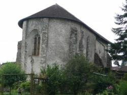 L'abbatiale Saint-Maur vue du nord-est