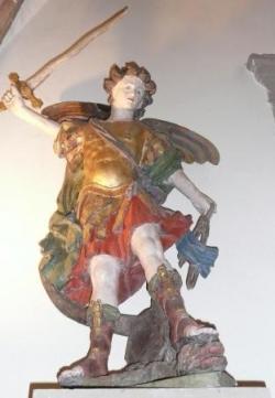 Eglise de Monthureux-sur-Saône : saint Michel