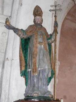 Eglise de Godoncourt : saint Rémi