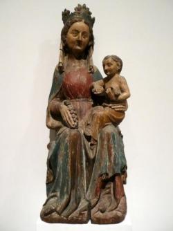 Musée lorrain : Vierge à l'Enfant