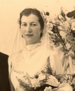 Irène Chaumeil, sœur de René, mon grand-père