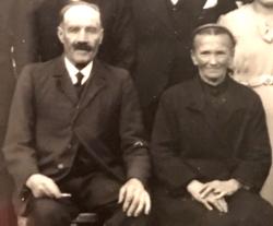 Joseph Daniel et Ernestine Bahon, leurs parents