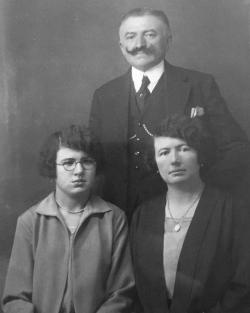 Joseph Poirier, Jeanne Richard et Jeanne Poirier