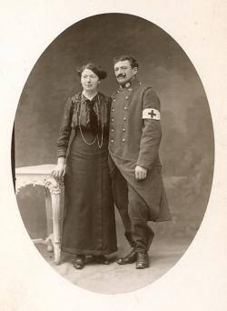 Jeanne Richard et son mari Joseph Poirier