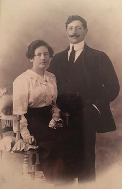 Marie-Joseph Richard, sa sœur et son mari