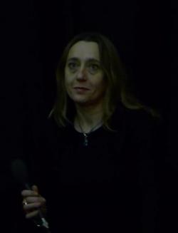 Virginie Despentes durant le débat