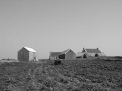 la ferme vue du Sud