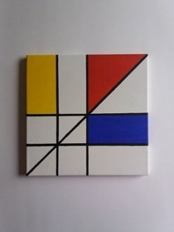 Hommage à Piet Mondrian
