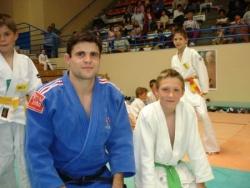 champion d'europe avec benjamin