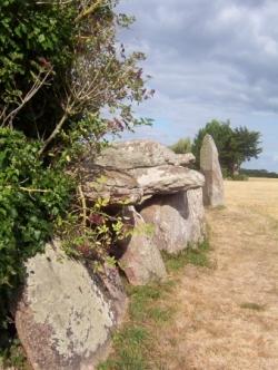 Menhir et Dolmen de Kersegalou