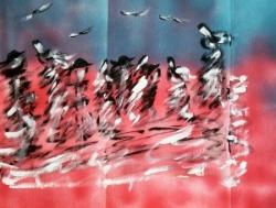 Peinture de Didier ( copyright ADAGP )
