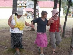 ...dansent par n'importe quel temps !