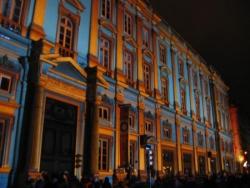Toujours la façade du Palais Saint Pierre