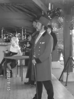 scène de saloon