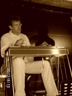 le seul musicien de pedal-steel en espadrille fran
